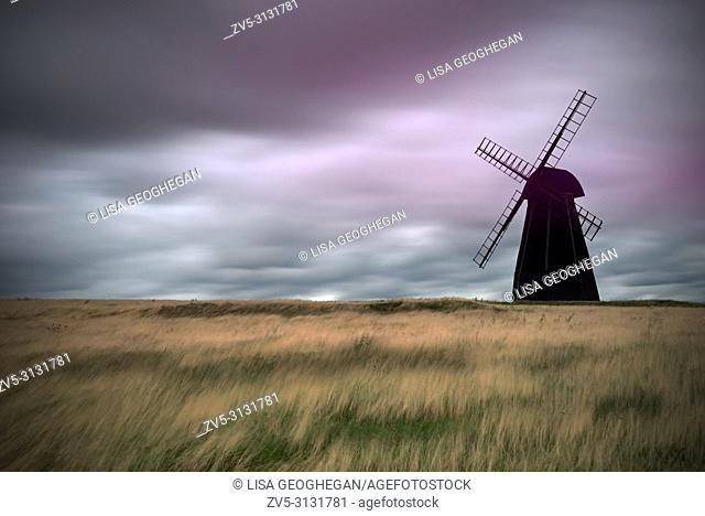 Beacon Mill Or New Mill, Rottingdean, East Sussex, England, Great Britain, uk