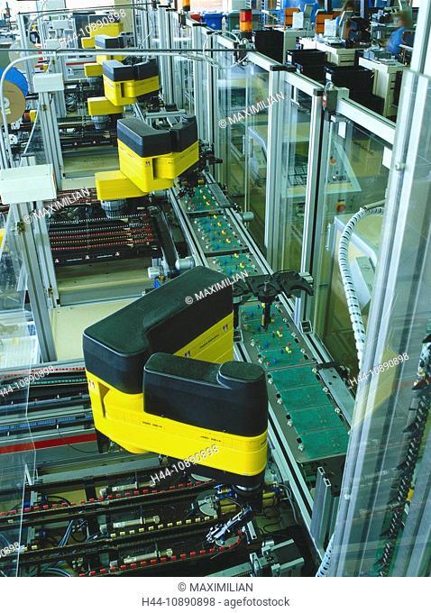 Assembling, Assembly, Circuit Board, Conveyor Belt, Economy, Electronic, Electronics, Engineering, Europe, European, Facility, F