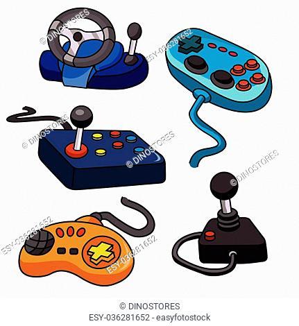 Vector Set.Video Game Controls