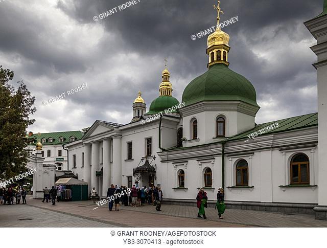 Church of the Exaltation of the Cross, Pechersk Lavra Monastery Complex, Kiev, Ukraine