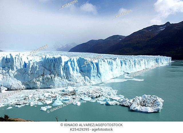 Perito Moreno glacier. Los Glaciares National Park. Santa Cruz province. Patagonia. Argentina