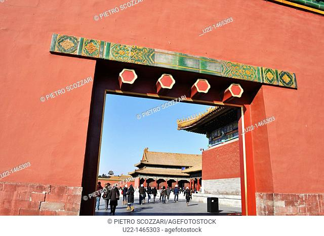 Beijing (China): the Forbidden City