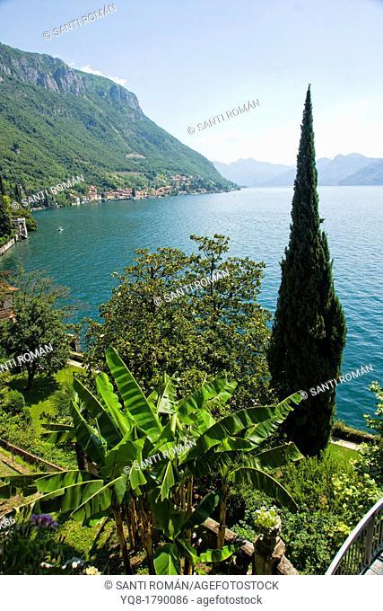 Varenna, Villa Monastero, Lake Como, Lombardy, Italian Lakes, Italy, Europe