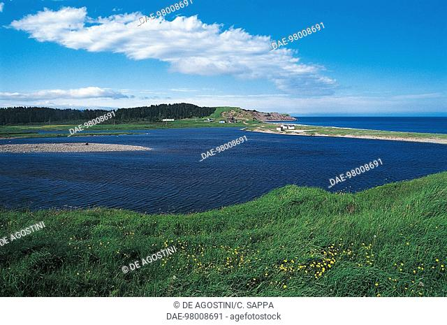 The coast north of Channel-Port aux Basques, Newfoundland, Canada