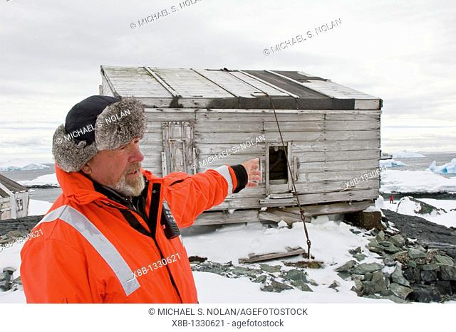 Scenes from the abandoned Antarctic research British Base 'W', abandoned in 1959 with scenes looking as if the researchers thought they would return immediately...