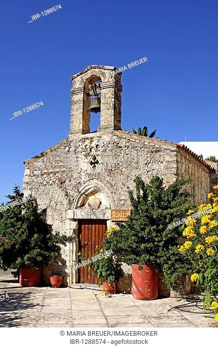 Agios Ioannis Church, Axos, Crete, Greece, Europe