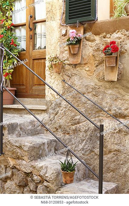 Valldemossa House details, Majorca, Balearic Islands, Spain