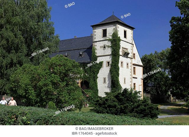 Kloster Maria Bildhausen abbey at Muennerstadt, Landkreis Bad Kissingen district, Lower Franconia, Bavaria, Germany, Europe