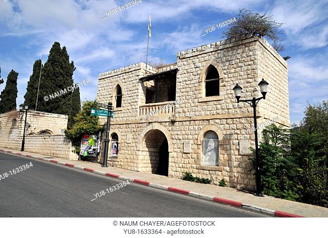 ain entrance  Jewish Cemetery,Haifa, Galilee, Israel,Asia, Middle East