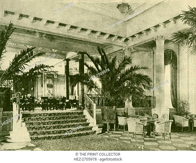 'Palm Court and Lounge in the Majestic', c1930. Creator: Unknown