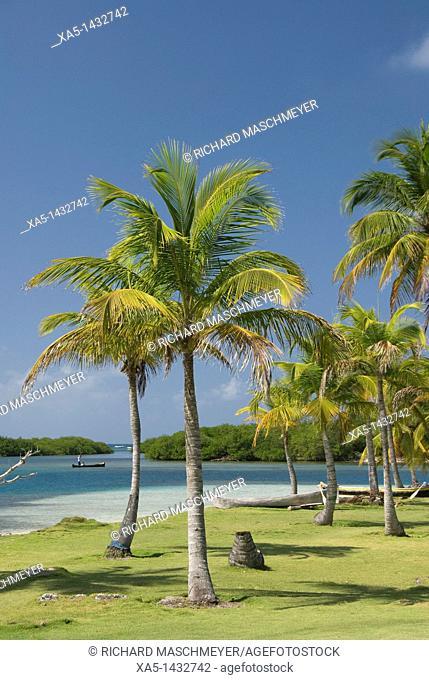 Yandup Island, San Blas Islands also called Kuna Yala Islands, Panama