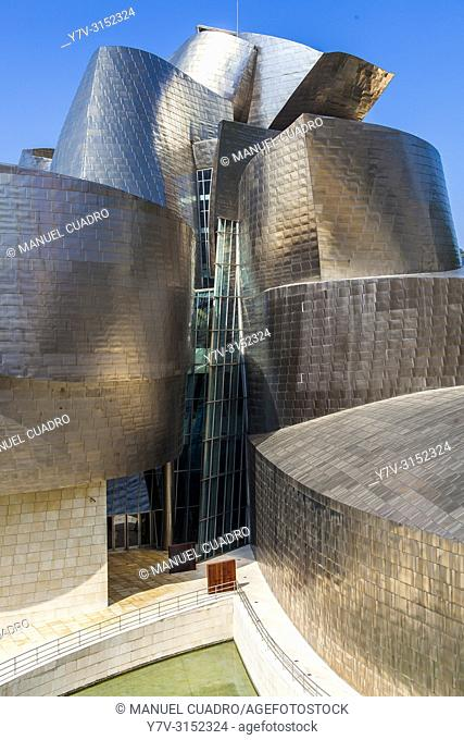 Guggenheim Museum. Bilbao, Biscay, Basque Country, Spain