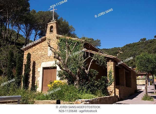 Sa Tuna church Spain, Catalunya, Girona province, Baix Empordà, Begur