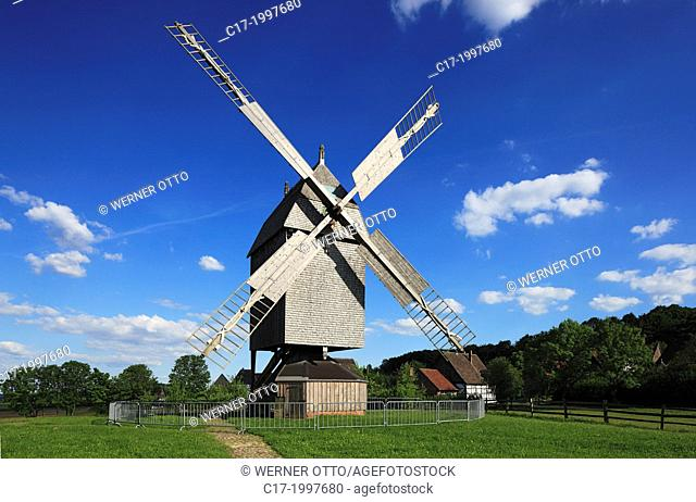 Germany, Detmold, Werre, Teutoburgian Forest, Teutoburg Forest / Egge Hills Nature Park, East Westphalia, North Rhine-Westphalia, NRW, Detmold Open-air museum
