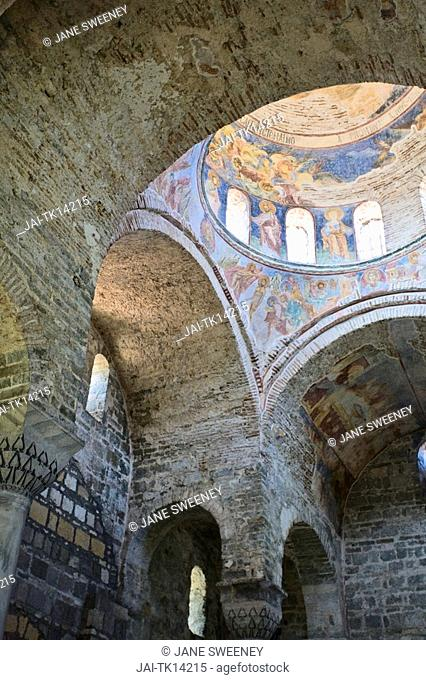 Turkey, Trabzon, Aya Sofya museum, Church of the Divine Wisdom, Biblical Frescoes on dome