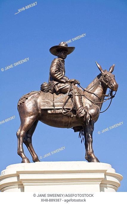 Equestrian statue of Augusto Cesar Sandino, Managua, Nicaragua