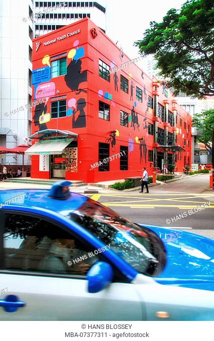 National Youth Council, The Red Box, NYC, Singapore, Asia, Singapore