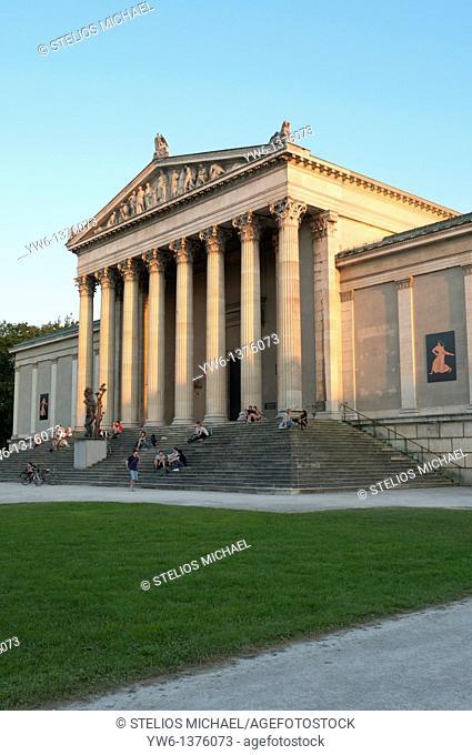 Antikensammlungen Museum at Konigsplatz in Munich,Germany