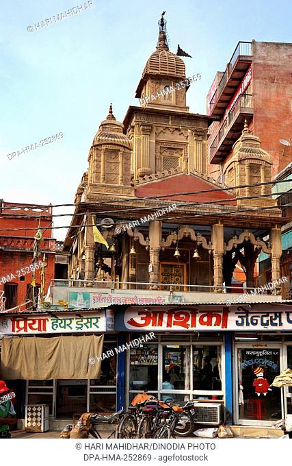Brihaspati temple, varanasi, uttar pradesh, india, asia