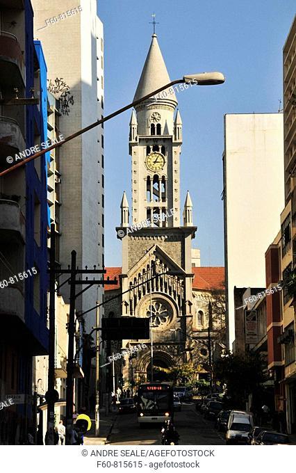 Consolacao Church, Sao Paulo, Brazil