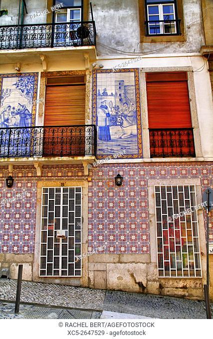 Saint Jorge neighborhood, Lisbon, Portugal