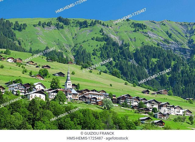 France, Savoie, Beaufortain region, Hauteluce