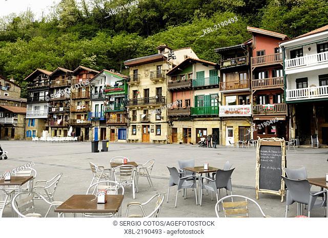 Plaza de Pasajes de San Juan, Basque Country, Guipuzcoa