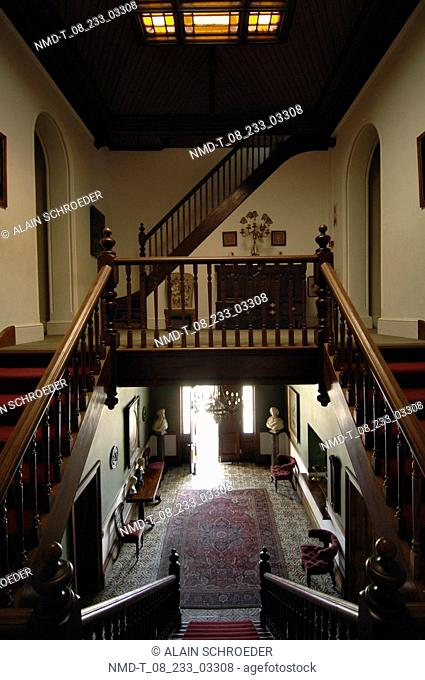 Interiors of a house, Lord Milner Hotel, Matjiesfontein, Western Cape Province, South Africa