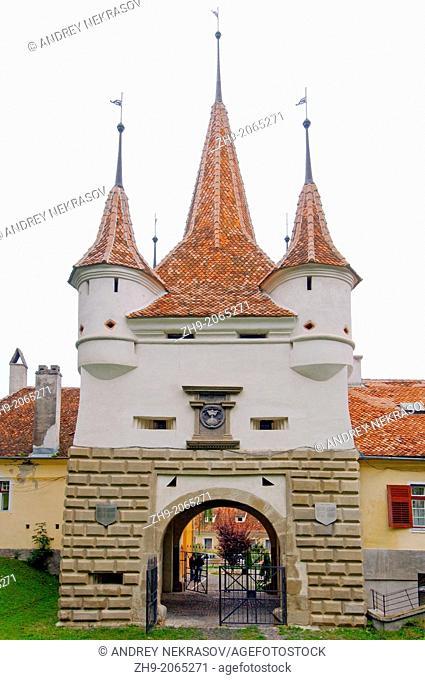 The city's main gate, Brasov, Romania, Europe