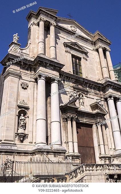 Church of San Francesco Borgia, Catania, Sicily, Italy