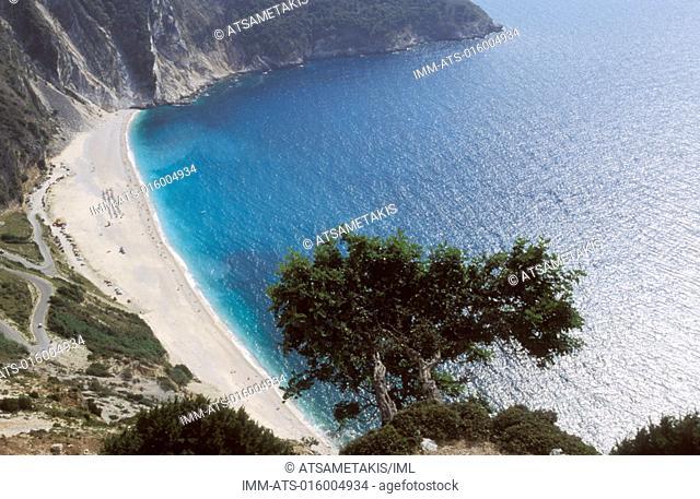 Myrtos Beach Kefallonia,Ionian Islands,Greece