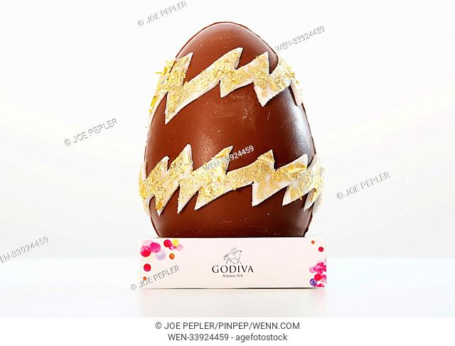 Luxury chocolatier, Godiva has partnered with a host of famous faces from the world of art and design to create six one-of-a-kind Easter eggs