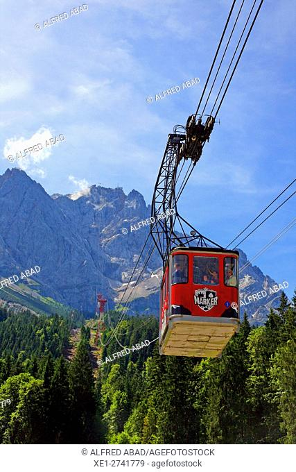 Cableway, Zugspitze, Germany