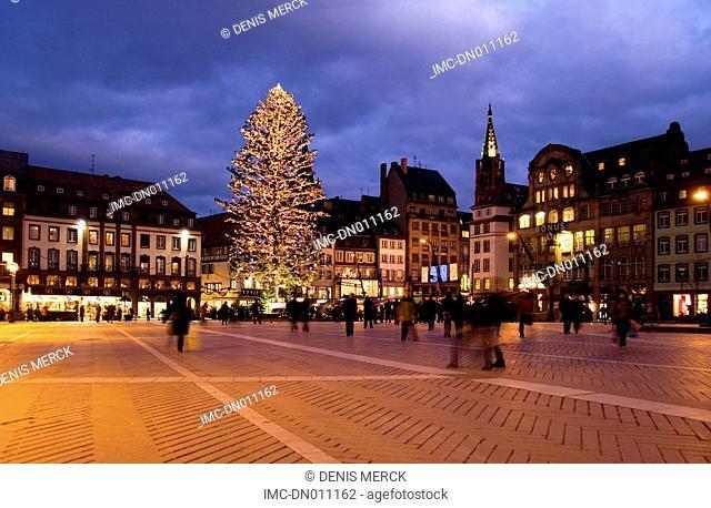 France, Alsace, Strasbourg, christmas
