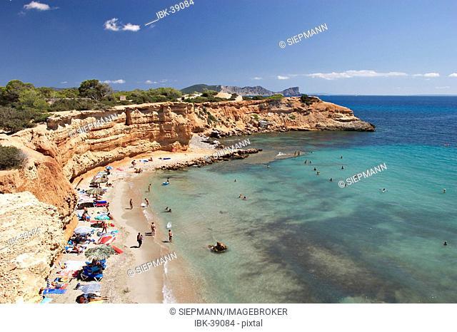 Beach Es Bol Nou on Ibiza