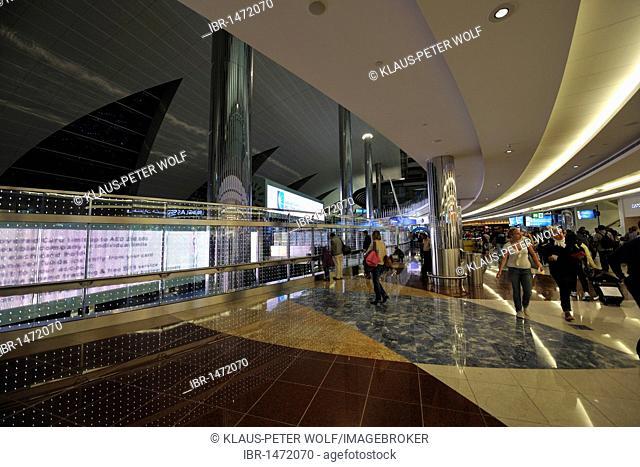 International Airport, the Emirate of Dubai, United Arab Emirates, Arabia, Middle East