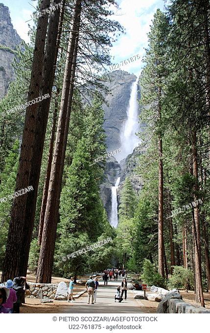 Yosemite National Park California, waterfall