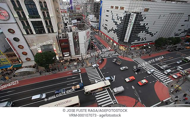 Japan-Tokyo City-Ueno District-Okachimachi Area