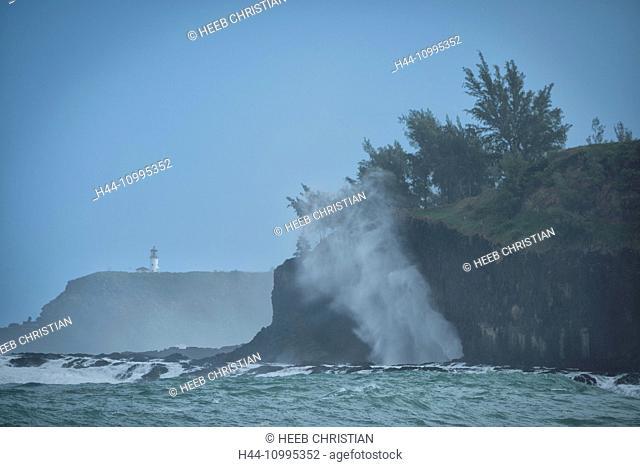 USA, Vereinigte Staaten, Amerika, South Pacific, Hawaii, Kauai, Kilauea Point, lighthouse