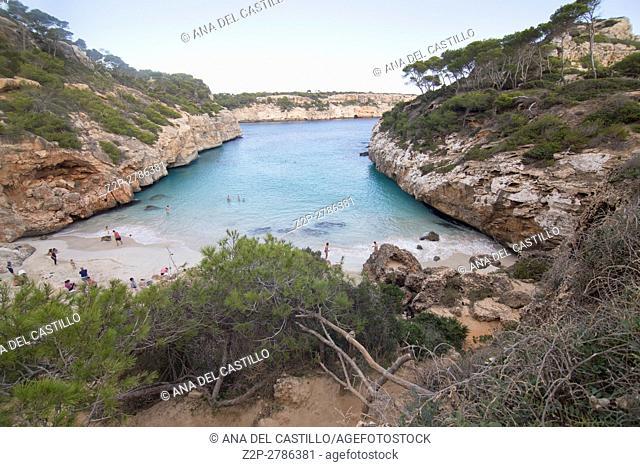 Calo des Moro (Majorca) Balearics Spain