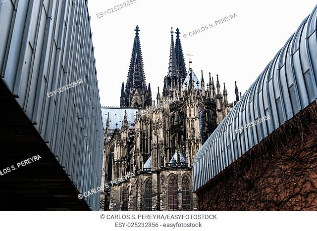Gothic cathedral of Koln Germany Europe