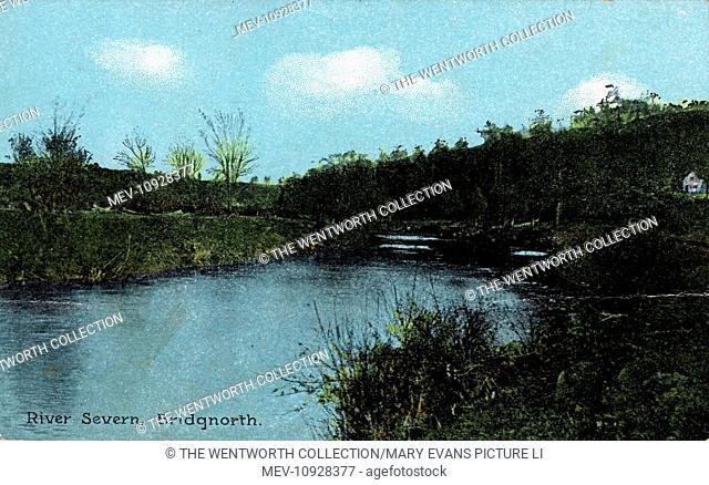 River Severn, Bridgnorth, Shropshire, England