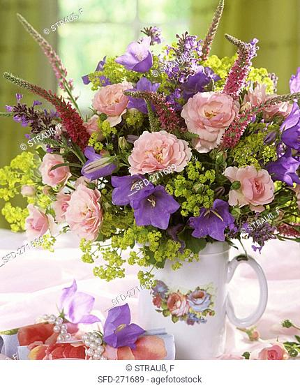 Arrangement of summer flowers