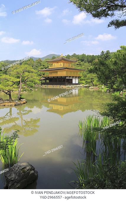 Temple of the Golden Pavilion, Kyoto, Japan
