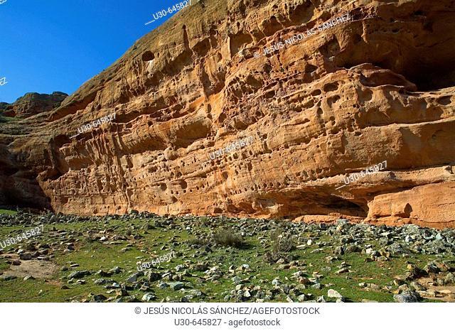 Celtiberian Archaeological Site. Tiermes. Soria province. Castilla-La Mancha. Spain