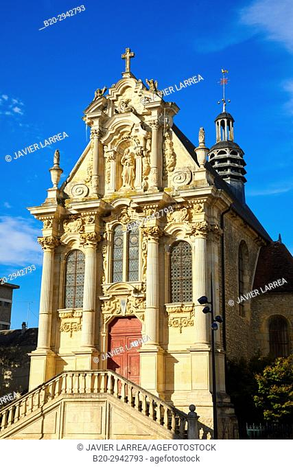 Chapelle de Sainte Marie, Nevers, Nievre, Bourgogne, France, Europe
