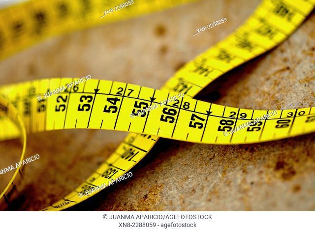 Yellow Dressmaker Meter