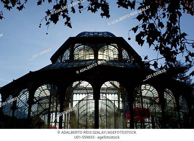 Cystal Palace Parque del Retiro Madrid Spain