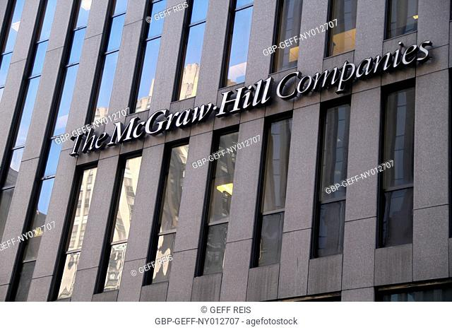 The McGraw-Hill Companies building, Times Square, New York, United States