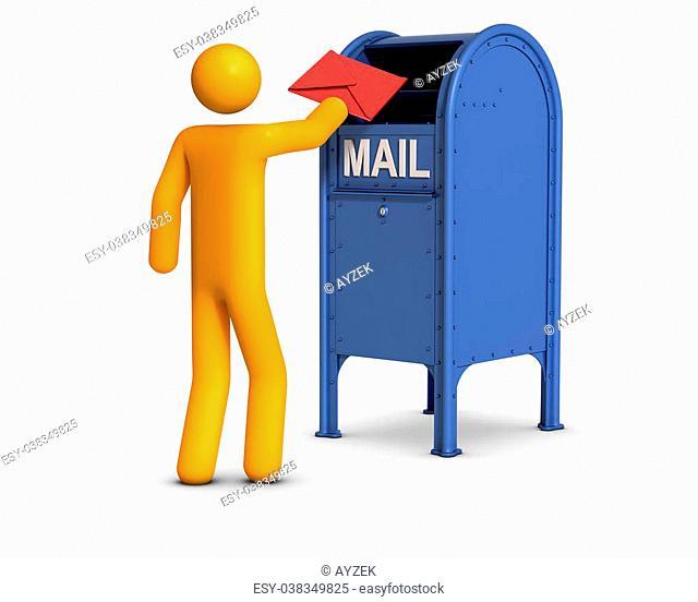 Sending letter